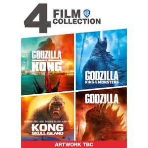 Godzilla and Kong 4-Film Collection
