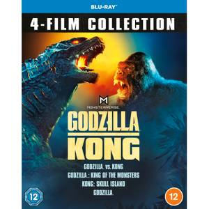 Godzilla en Kong 4-film Collectie