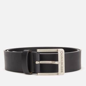 Calvin Klein Jeans Men's Leather Belt - Black