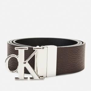 Calvin Klein Jeans Men's Reversible Belt - Black/Bitter Brown