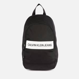 Calvin Klein Jeans Men's Rounded Bp43 Backpack - Black