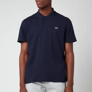 Lacoste Men's Tape Trim Polo Shirt - Navy Blue