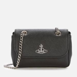 Vivienne Westwood Women's Derby Small Purse with Chain - Black