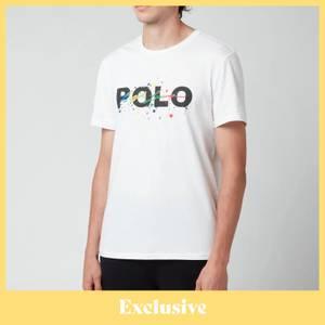 Polo Ralph Lauren Men's Driftwood Cove Hut Europe Exclusive T-Shirt - White