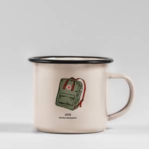 Fjallraven Kanjen Backpack Enamel Mug - Multi