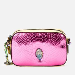 Kurt Geiger London Women's Kensington Small Camera Bag - Fushia Comb