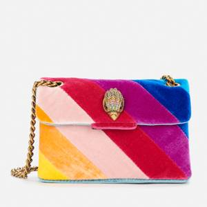 Kurt Geiger London Women's Velvet Mini Kensington Bag - Multi/Other