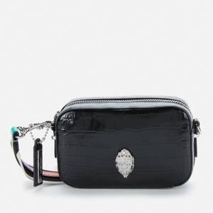Kurt Geiger London Women's Shoreditch Small Camera Bag - Black Printed