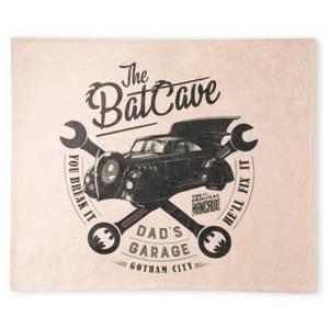 DC Batman The Bat Cave Fleece Blanket