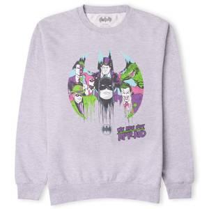 DC Batman We Are Not Afraid Sweatshirt - Grey