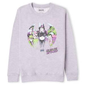 DC Batman We Are Not Afraid Kids' Sweatshirt - Grey