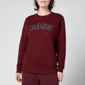 BOSS Women's C_Esety Sweatshirt - Dark Red