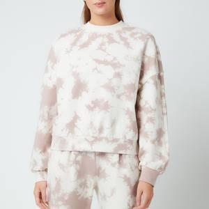 Varley Women's Erwin Sweatshirt - Taupe Tie Dye