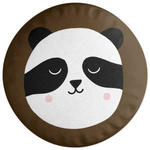 Panda Bear Round Cushion Round Cushion