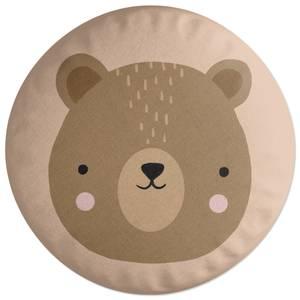 Bear Round Cushion Round Cushion
