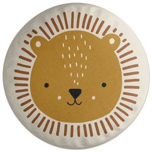 Lion Round Cushion Round Cushion