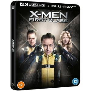 Marvel's X-Men: First Class - Zavvi Exclusive 4K Ultra HD Lenticular Steelbook (Includes Blu-ray)