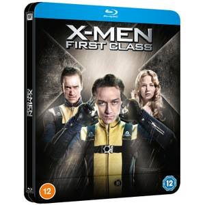 X-Men : Le Commencement - Steelbook Lenticulaire Blu-Ray en Exclusivité Zavvi