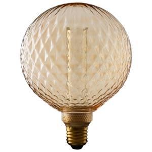 TCP Decorative Lightbulb LED Crystal Globe ES 3W/13W Warm Amber 1 Pack