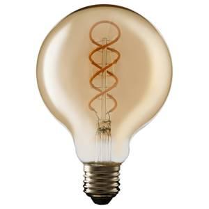 TCP Decorative Lightbulb Soft Filament Globe ES 4W/25W Warm Amber 1 Pack