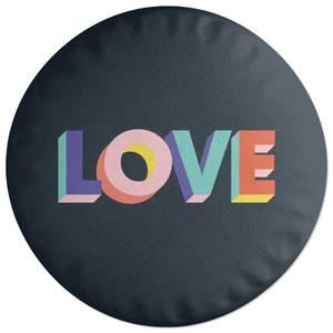 Love Round Cushion