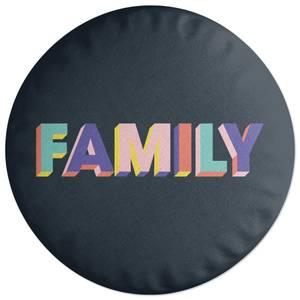 Family Round Cushion