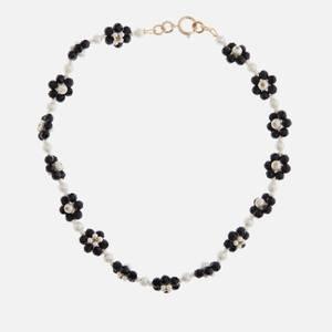 Shrimps Women's Ross Floral Necklace - Black & Cream