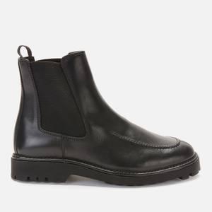 KENZO Men's K-Mount Leather Chelsea Boots - Black