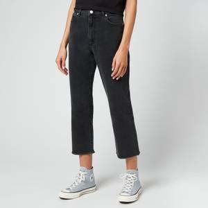 HUGO Women's Gayang Jeans - Grey