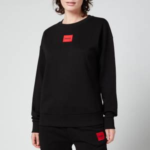 HUGO Women's Nakira Red Label Sweatshirt - Black