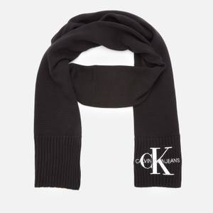 Calvin Klein Jeans Women's Knitted J Basic Women Scarf - Black