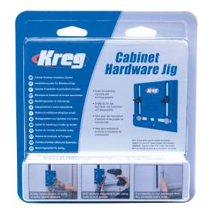 Kreg KHI-PULL-INT  Cabinet Hardware Jig