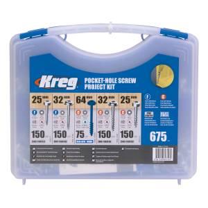 Kreg SK03-INT Pocket-Hole Screw Project Kit