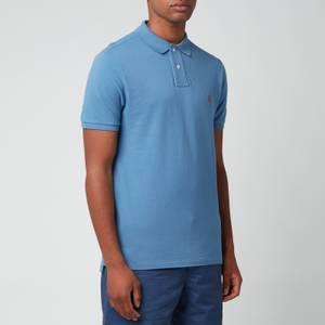 Polo Ralph Lauren Men's Mesh Polo Shirt - Delta Blue