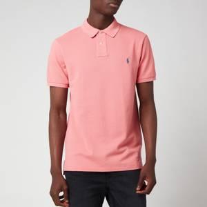 Polo Ralph Lauren Men's Mesh Polo Shirt - Desert Rose