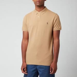 Polo Ralph Lauren Men's Mesh Polo Shirt - Luxury Tan