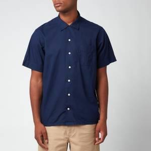 Polo Ralph Lauren Men's Cotton Short Sleeve Shirt - Newport Navy