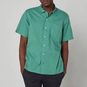 Polo Ralph Lauren Men's Cotton Short Sleeve Shirt - Seafoam