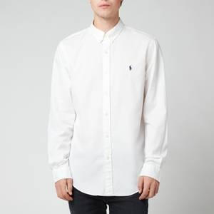 Polo Ralph Lauren Men's Slim Fit Garment Dyed Chino Shirt - White