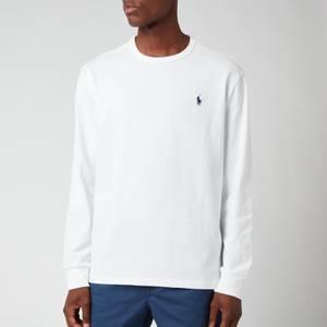 Polo Ralph Lauren Men's Jersey Long Sleeve T-Shirt - White