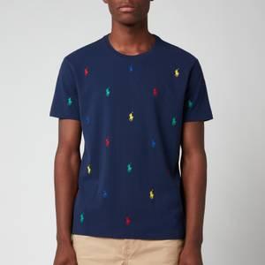 Polo Ralph Lauren Men's All Over Print T-Shirt - Newport Navy