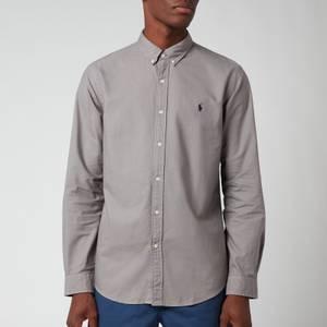 Polo Ralph Lauren Men's Slim Fit Garment Dyed Oxford Shirt - Perfect Grey