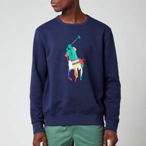 Polo Ralph Lauren Men's Graphic Fleece Sweatshirt - Newport Navy