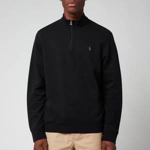 Polo Ralph Lauren Men's Quarter Zip Jumper - Polo Black