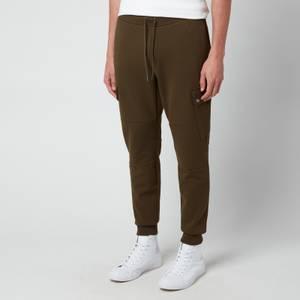 Polo Ralph Lauren Men's Double Knit Cargo Jogger Trousers - Company Olive