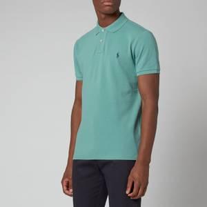 Polo Ralph Lauren Men's Mesh Polo Shirt - Seafoam