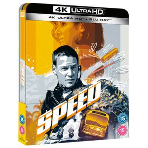 Speed - Steelbook 4K Ultra HD (Blu-ray inclus) en Exclusivité Zavvi