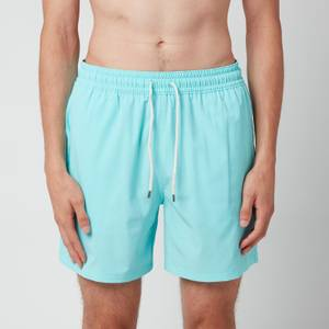Polo Ralph Lauren Men's Traveller Swimming Trunks - Hammond Blue