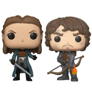 Game of Thrones Theon & Yara Greyjoy Funko Pop! Vinyl Bundle