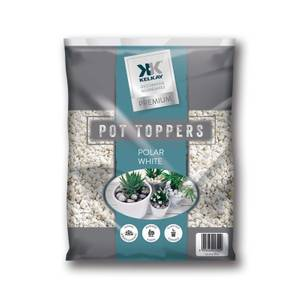 Polar White Pot Toppers - Handy Pack